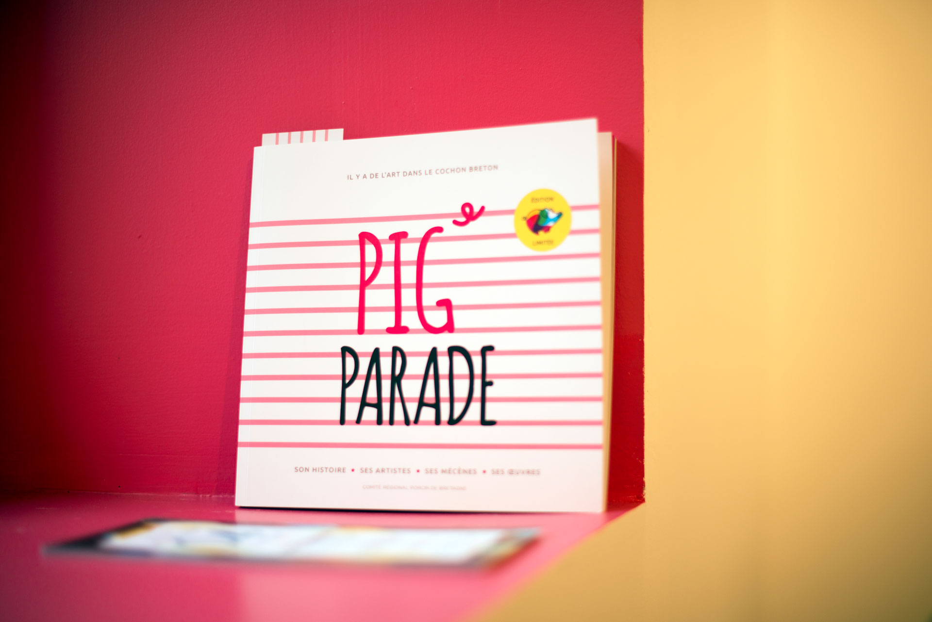 Le livre de la Pig Parade 2015- Agence Coqueliko