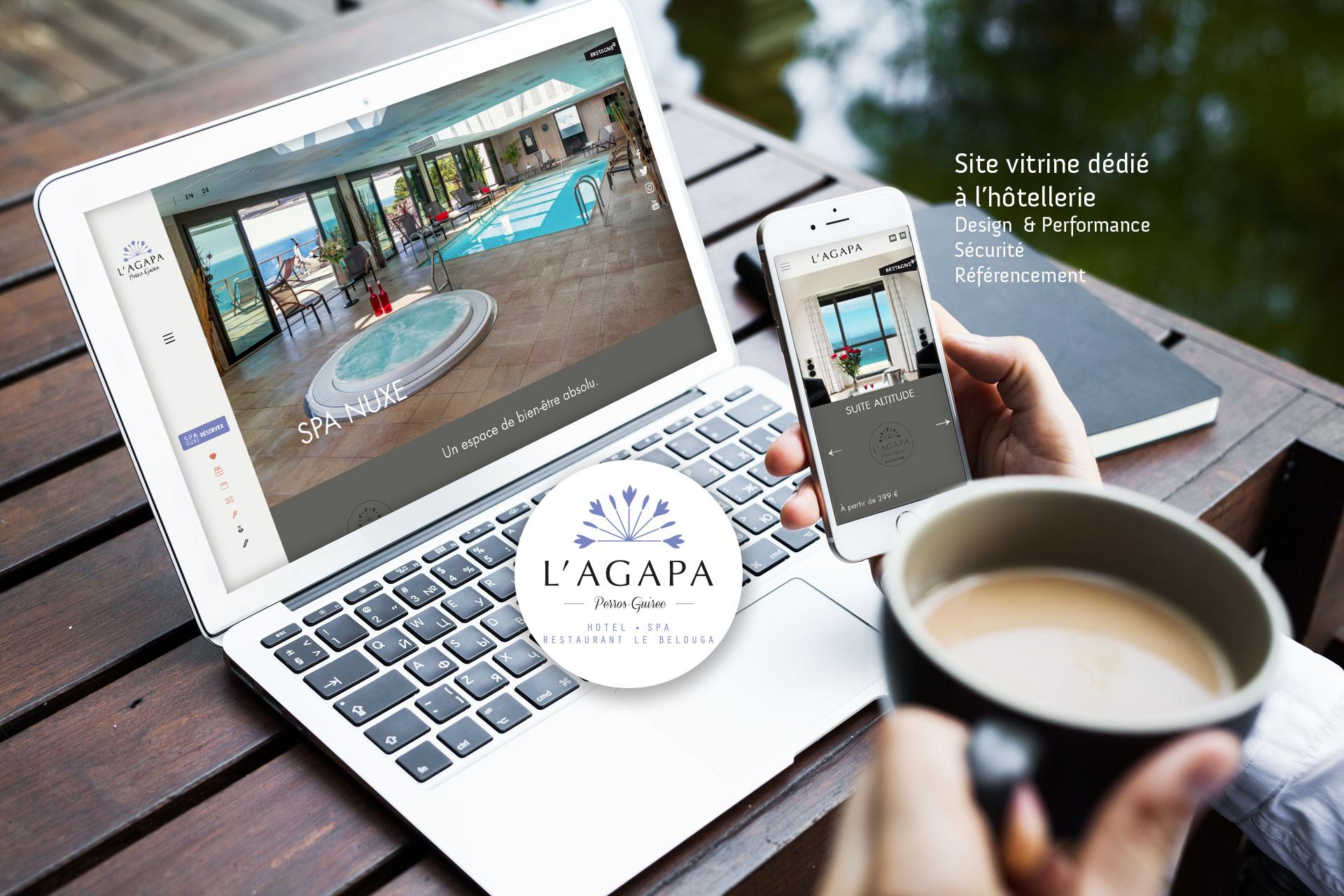 Site internet Agapa- Coqueliko