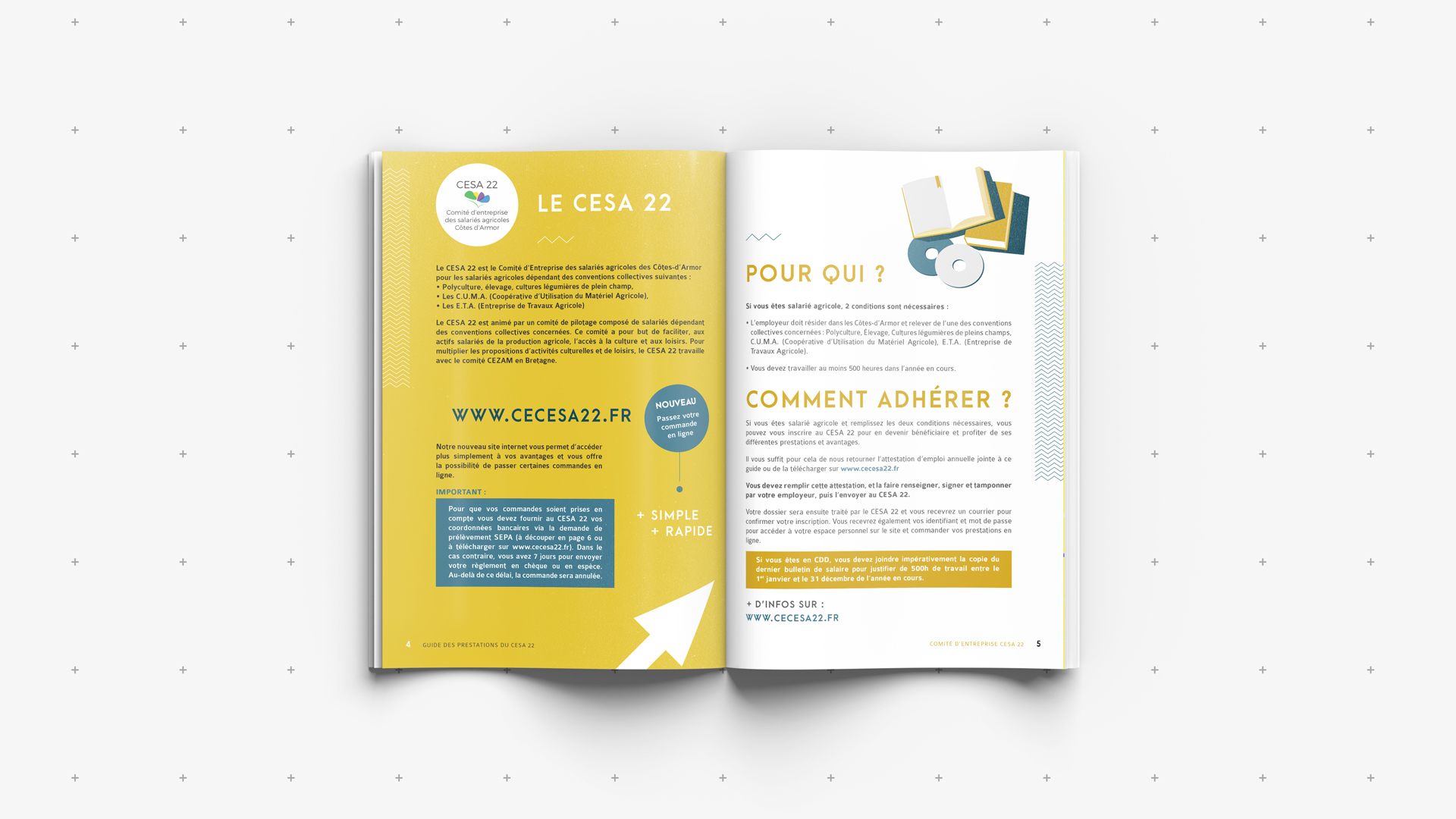 Cesa 22 communication by Agence Cqoueliko