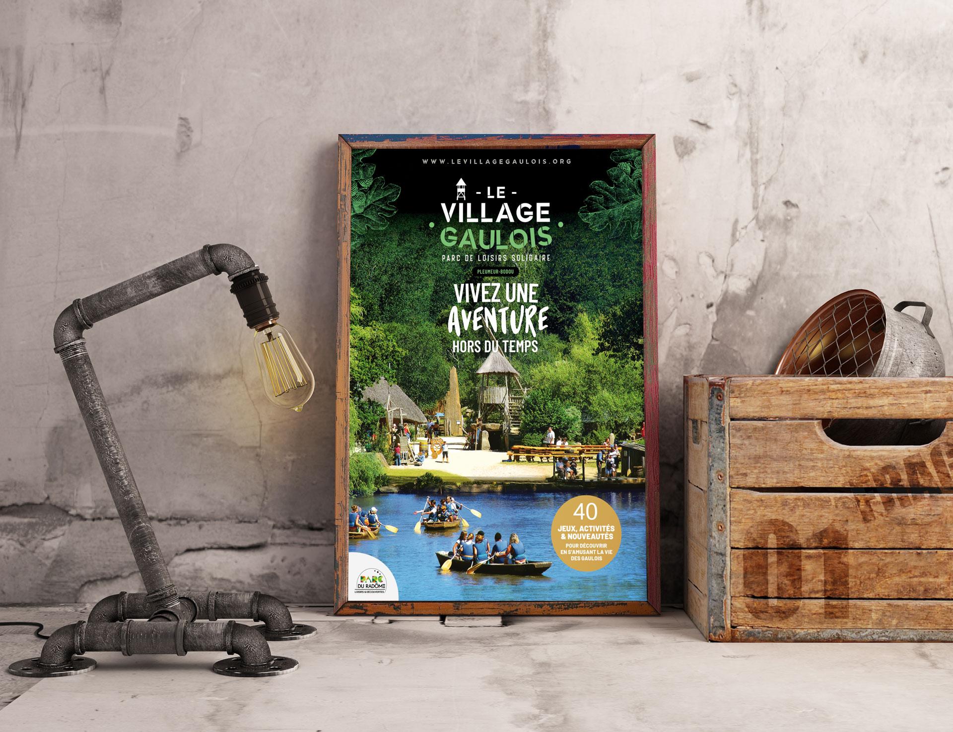 creation-affiche-village-gaulois-agence-Coqueliko