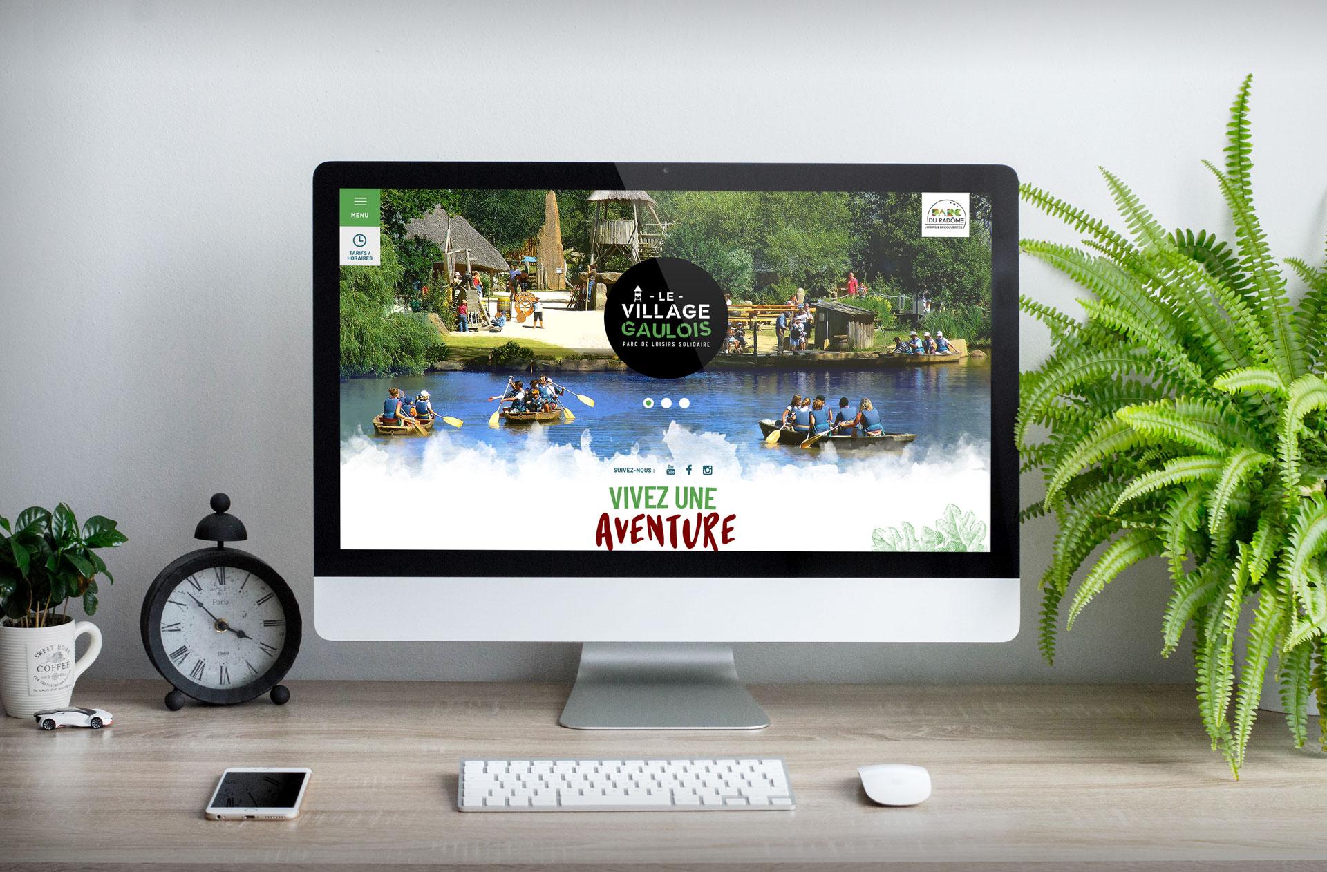 site-internet-village-gaulois-agence-Coqueliko