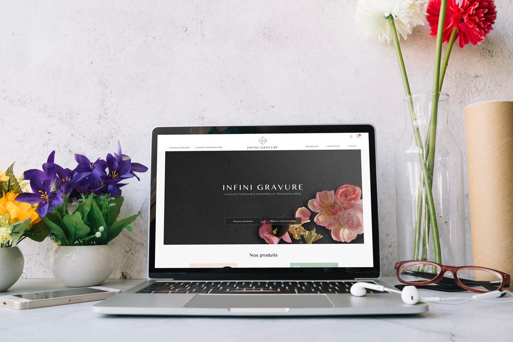 site-internet-configurateur-infini-gravure-coqueliko-agence-communication-lannion-roudennboutik