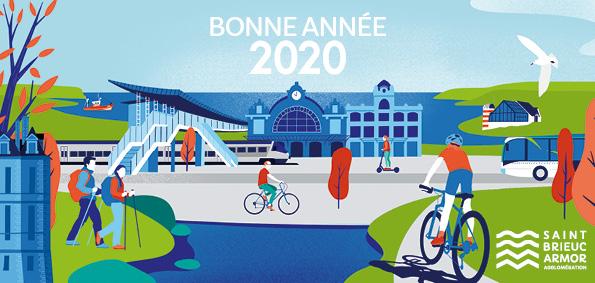 Illustration-invitation-Saint-Brieuc-agglomération-voeux-2020-coqueliko-roudenn-boutik-lannion