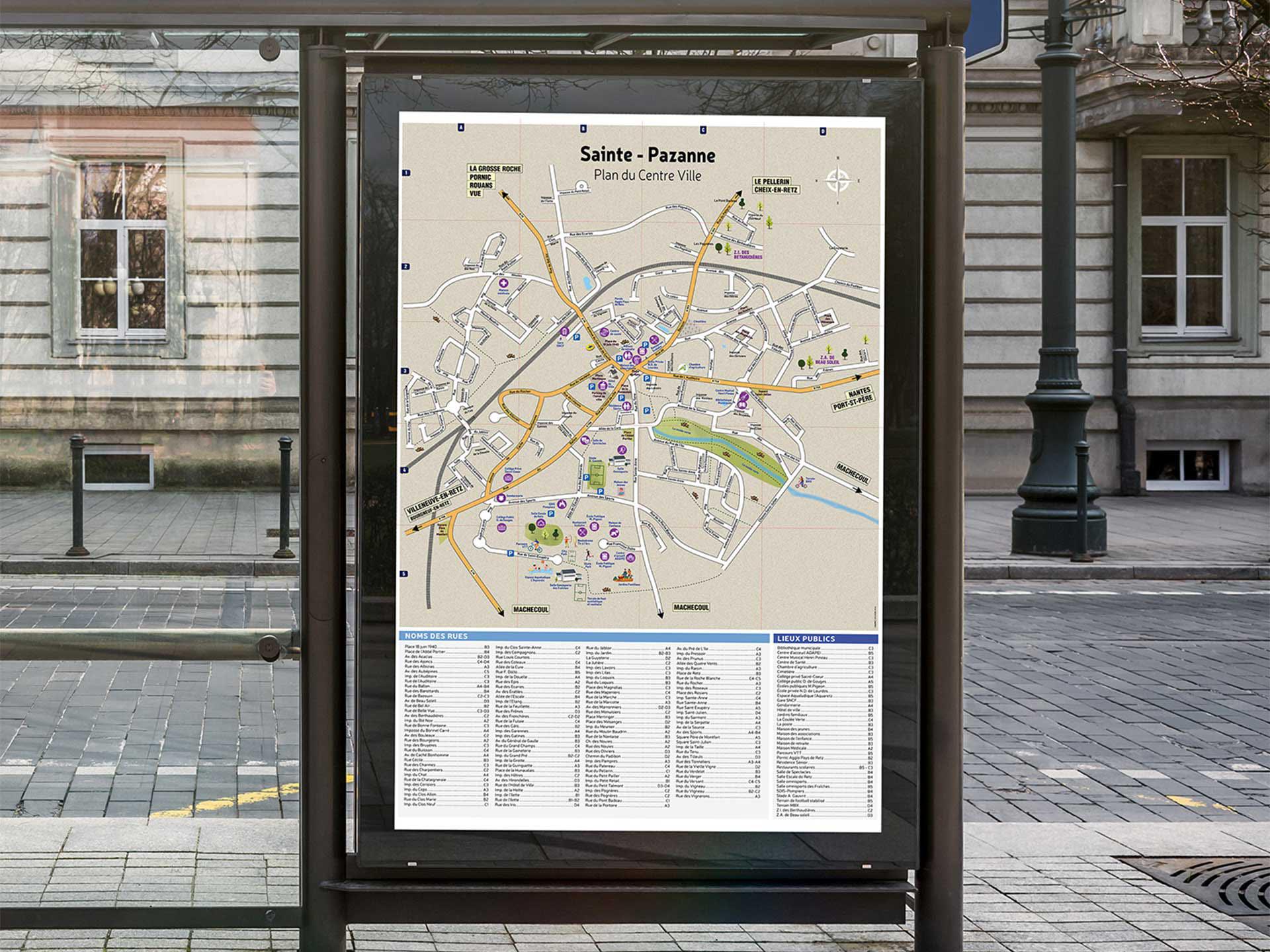 sainte-pazanne-plan-de-ville-coqueliko-roudenn-lannion