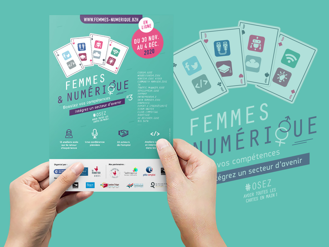 french-tech-coqueliko-evenementiel-roudenn-lannion-flyers